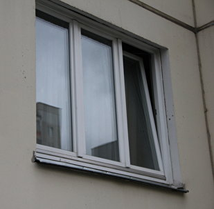 Окно в многоквартирном доме