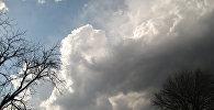 Хмары на небе, архіўнае фота