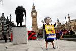 Протесты на улицах Лондона
