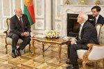 Встреча президента Беларуси Александра Лукашенко со старшим вице-президентом Всемирного банка Кайлом Питерсом