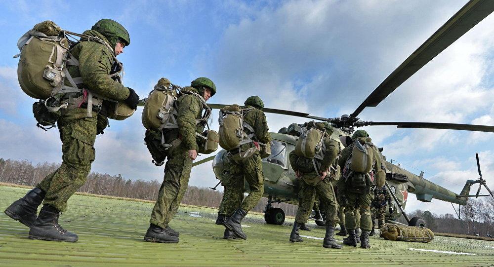 Совместные белорусско-российские учения на полигоне Брестский