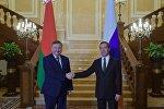 Председатель правительства РФ Д. Медведев встретился с премьер-министром Белоруссии А. Кобяковым