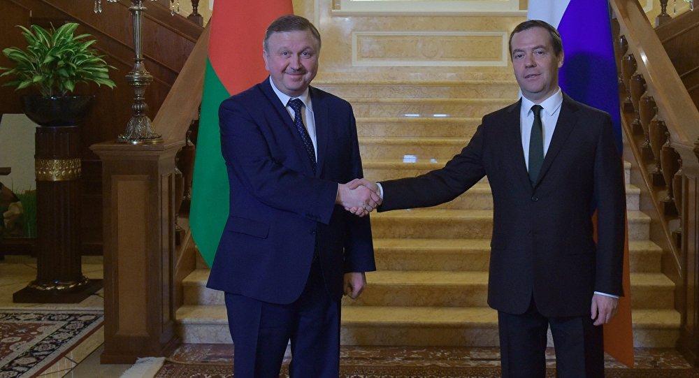 Медведев: РФ и Республика Беларусь пока неразрешили проблемы втопливной сфере