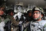 Военные НАТО на учениях, архивное фото