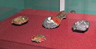 Выстава значкоў, прысвечаных Кастрычніцкай рэвалюцыі, адкрылася ў Мінску