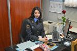 Старший инспектор отделения по агитации и пропаганде Гомельского областного управления ГАИ Анна Ковалева