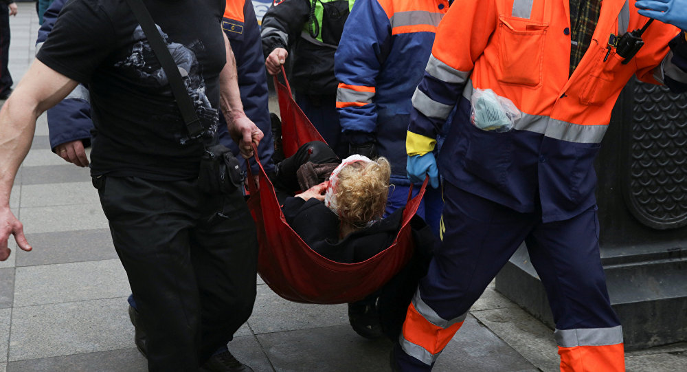 Белорус пострадал впроцессе теракта вметро вПетербурге