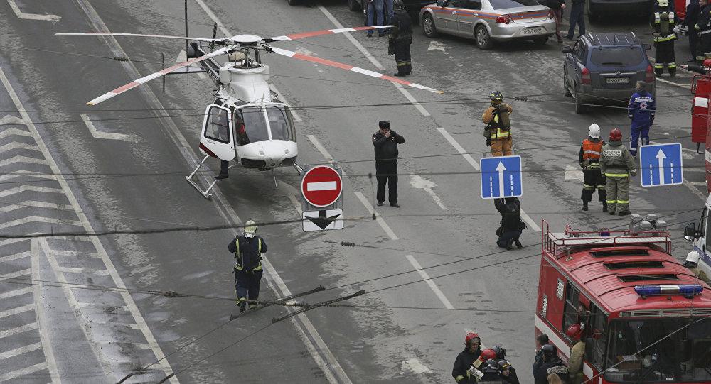 МИД: житель Республики Беларусь пострадал при взрыве вметро Петербурга
