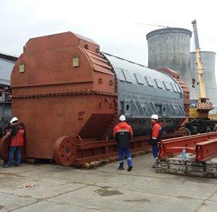 На Белорусскую АЭС доставлен турбогенератор