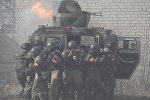 Психологическая атака и захват террористов на учениях десанта в Лосвидо