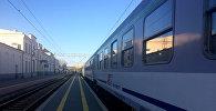Поезд в Польше, архивное фото