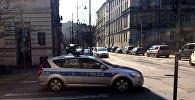 Машина полиции в Польше, архивное фото