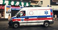 Машина скорой помощи в Польше, архивное фото