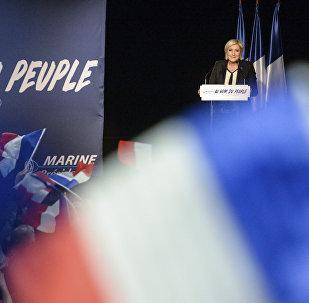 Лідэр партыі Нацыянальны фронт Марын Ле Пэн