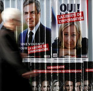 Один из фаворитов предстоящих президентских выборов во Франции — правый кандидат и глава партии Национальный фронт Марин Ле Пен