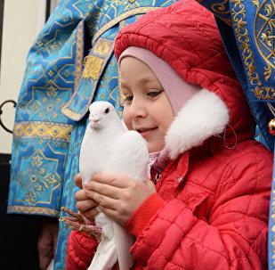 Святкаванне Дабравешчання Прасвятой Багародзіцы