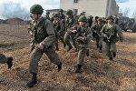 Военнослужащие российских ВДВ и белорусских ССО