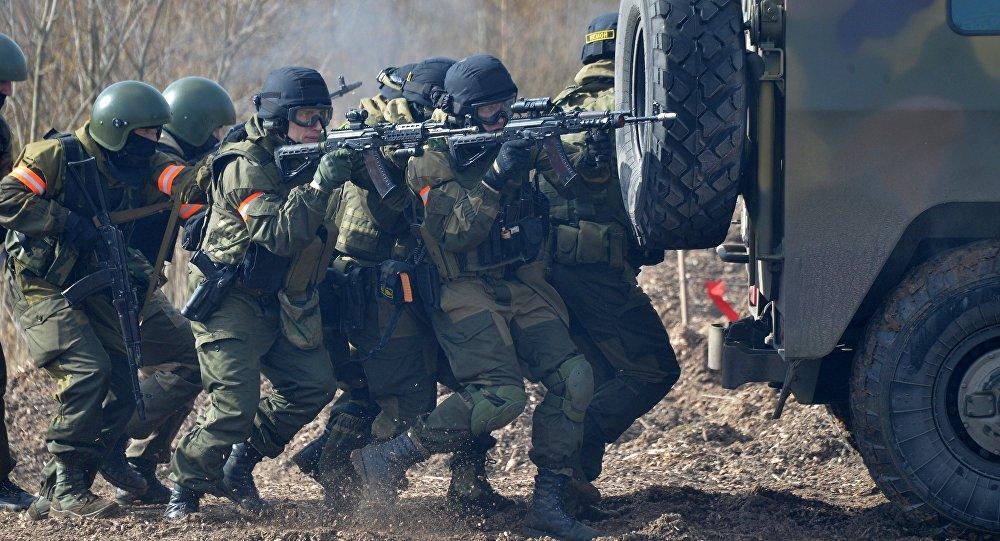 Совместные учения подразделений ВДВ РФ и сил спецопераций Беларуси