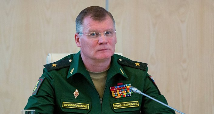Официальный представитель минобороны РФ генерал-майор Игорь Конашенков