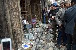 Место теракта в Египте