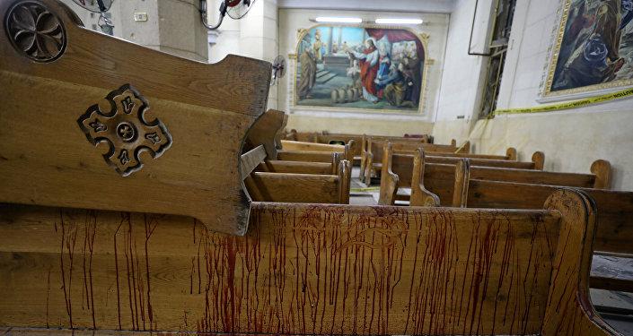 ВЕгипте траур попогибшим в итоге терактов
