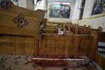 В главной церкви египетского города Танта произошел взрыв