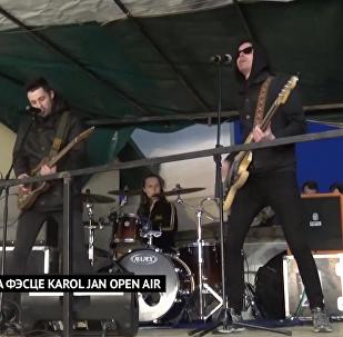 Akute выступілі на фэсце вулічнай музыкі Karol Jan Open Air