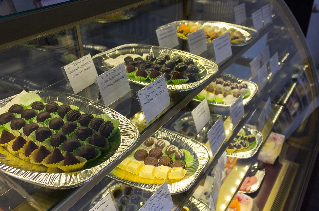 В своих конфетах брестские кондитеры используют шоколад бельгийского производства
