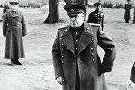 Георгий Жуков накануне наступления на Берлин