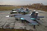 Истребители-бомбардировщики Су-34