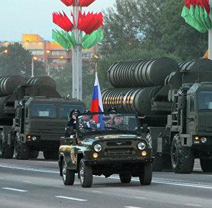 Зенітныя ракетныя комплексы С-400 Узброеных сіл Расіі