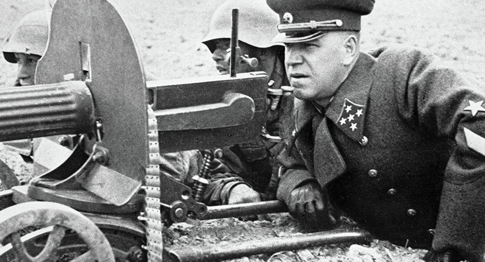 Георгій Жукаў, архіўнае фота