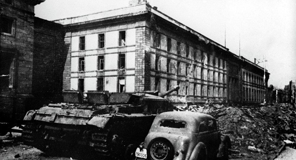 Будынак імперскай канцылярыі ў Берліне