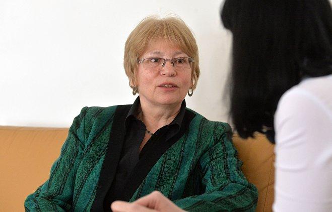 Основатель Международного общественного объединения Волюнтас Галина Шварц