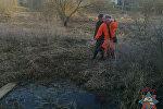 В Поставах на реке 10 апреля спасена женщина