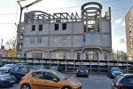 Строящееся здание церковного корпуса на улице Кропоткина в Минске