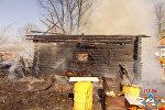 Пожар в Полоцком районе