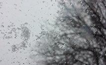 Мокры снег, архіўнае фота