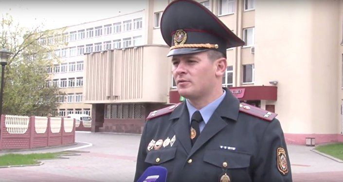Начальник отделения информации и общественных связей УВД Гродненского облисполкома Евгений Дудко