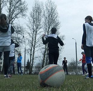 Кто играет в женской команде по регби ″Маланка″?