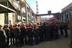 Собрание рабочих на Беларуськалии