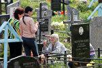 Посещение кладбищ в день Радуницы