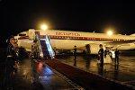 Boeing 738BBJ авиакомпании Belavia, обслуживающей правительство Беларуси