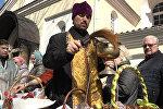 Православные освятили пищу