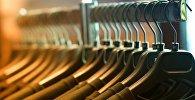 Вешалки с одеждой, архивное фото