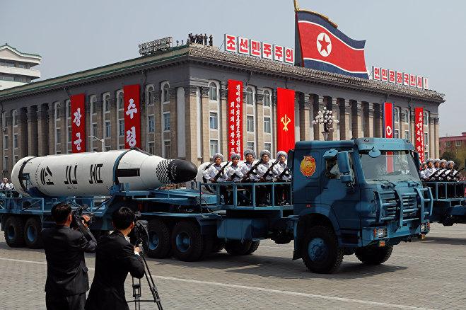 США посылают три авианосца кберегам Южной Кореи