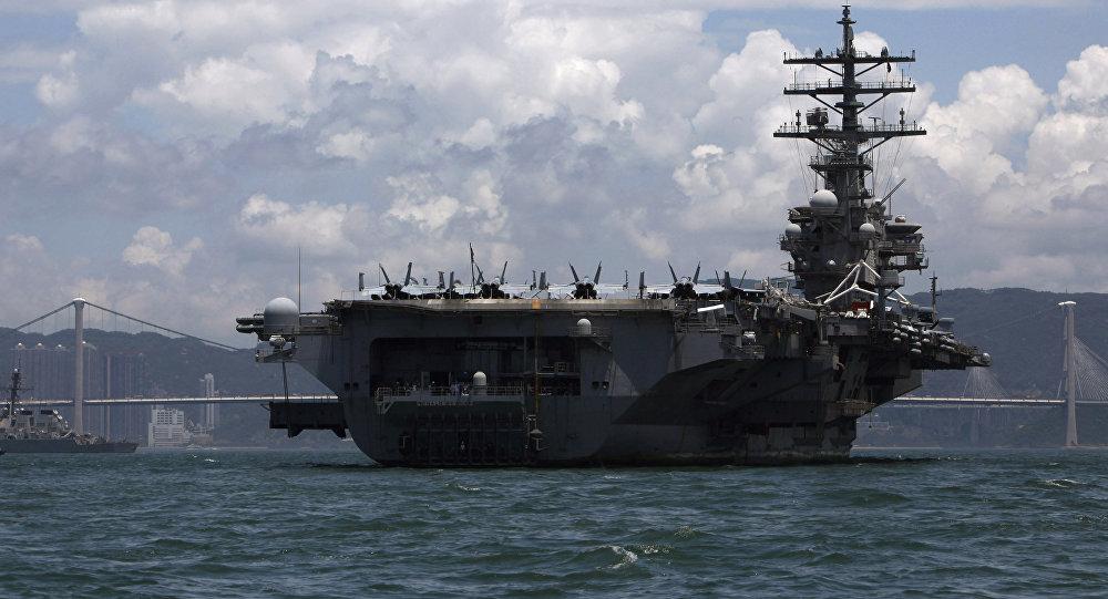 США направляют три авианосца кберегам Южной Кореи