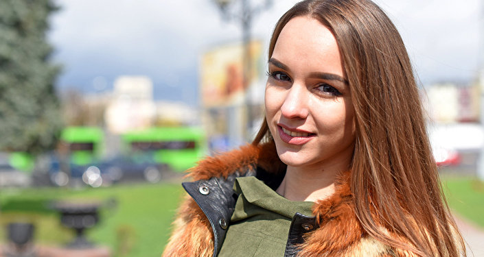 Кацярына Дуброўская - удзельніца конкурсу Краса Сусвету- 2017
