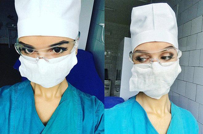 Екатерина Дубровская работает операционной медсестрой в Центральной речицкой больнице