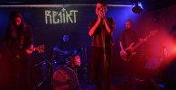 Выступленне гурта Re1ikt на дабрачыннай акцыі